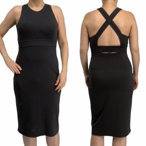Athleta dark gray Deep Breath bralette dress